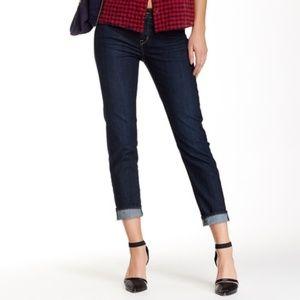 Rich & Skinny Women's Boy Girl Cut Jeans